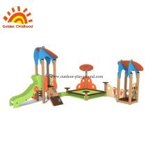 Équipement de glissière et de bac à sable pour aire de jeux extérieure HPL
