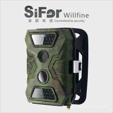 ir panel solar de la cámara de seguridad con pilas GSM para la seguridad de la casa de la zona remota