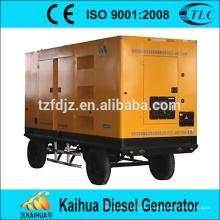 El precio de fábrica suministra el tipo móvil insonoro de la alta calidad accionado por el generador CUMMINS