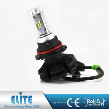 Auto car led supplier ZES 50W 6000 lumen x3 360 light 9004 9007 led headlight bulbs