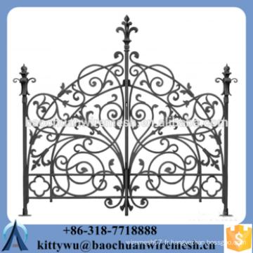 Porte de clôture en métal pliable, porte de clôture en métal pliable, porte de clôture en métal pliable