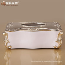 eco-friendly customized design home decor tissue box at good price