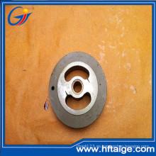 Placa de válvula limpia de aleación doble de pieza hidráulica