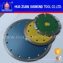 Диаметром 105-300мм Спеченный Алмазный отрезной диск для камня бетона кирпича