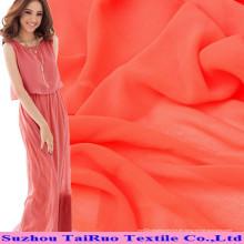 Polyester Spandex Chiffon und elastischer Georgette für Kleid