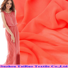 Polyester Spandex Chiffon and Elastic Georgette for Dress
