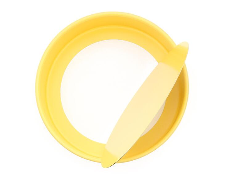 10' Carbon Steel Non-Stick Round Cake Pan With Removable Bottom -Yellow (11)