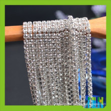 Crystal Rhinestone Chain Trimming For Wedding Dress