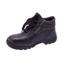 Ufb013 Winter Black Steel Toe Safety Shoes Industrial Safety Shoes