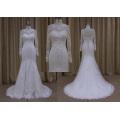 New Style Long Sleeve Mermaid Lace Wedding Dress