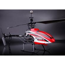 MJX f646 f46 rc Hubschrauber, 2.4G 4ch einzelne Klinge rc Hubschrauber mit Servo & LCD Bildschirm