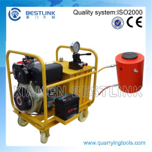 Hydraulic Pressure Stone Block Push Down Machine