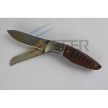 Cuchillo plegable del acero inoxidable 420 (SE-729)