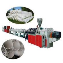 2014 nuevo tipo PVC / línea de extrusión de tubería de plástico UPVC / línea de producción de plástico