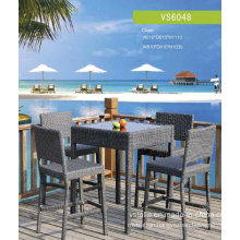 PE Rattan Outdoor Garden Wicker Rattan Bar Set