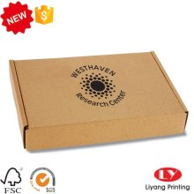 Kraft paper packaging folding box