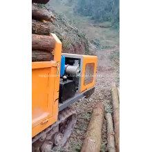 Camión de orugas diesel pequeño Mini dumper Maquinaria de minería de 2 toneladas