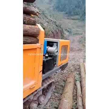 Petit camion à chenilles diesel mini dumper de 2 tonnes de machines minières