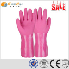 Sunnyhope oil resistance working fit protective flexible safety glove