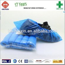 Clear Plastic Shoe Cover Ankle High