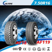 Fornecedor chinês para pneus de caminhões pneumático (7.50 R16)