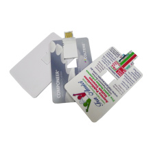 Promotional Custom Credit Card USB Flash Drive