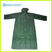 Vêtement de travail imperméable adulte de PVC imperméable long Rvc-083