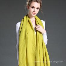 Bufanda grande del color puro de las mujeres más nuevas del estilo