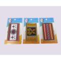 Пользовательский держатель визитной карточки - позолоченный - искусство аборигенов Тайваня