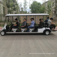 Venta caliente de CVT 10-12 asientos del carro de golf de la energía del gas con el CE para hacer turismo, campo de golf