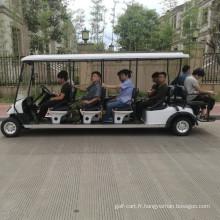 CVT Vente Chaude 10-12 places de gaz à gaz chariot de golf avec CE pour le tourisme, terrain de golf