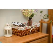 Ручная корзина для хранения плетеных изделий с экологически чистой (BC-ST1001)