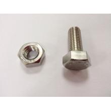 Aço inoxidável A2-70 porca parafuso maquinaria de fabricação preço
