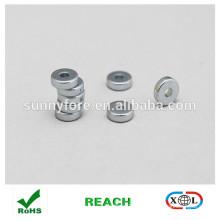 небольшие n35 цинковое покрытие магнитное кольцо