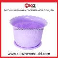 Fabricação de moldes de pote de flores de plástico de alta qualidade na China