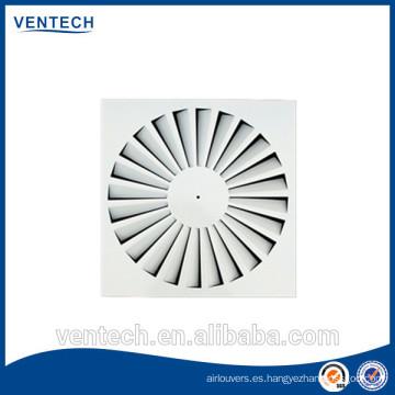 difusor de aire HVAC remolino