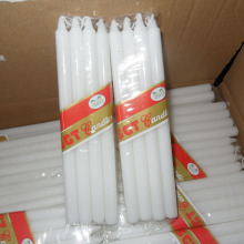 cellophane packing 8pcs pack household white candles