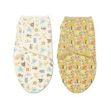 ультра мягкий бамбука ребенка пеленать одеяло младенец пеленальный регулируемые