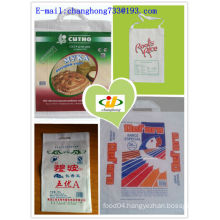 white rice bag 25kg with Handle