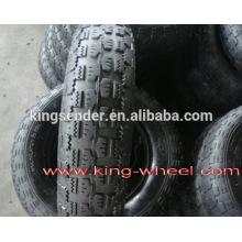 brouette de pneu et tube 3.50-8