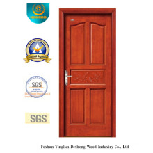 Simplestyle Solid Wood Door with Carving for Interior (DS-6024)
