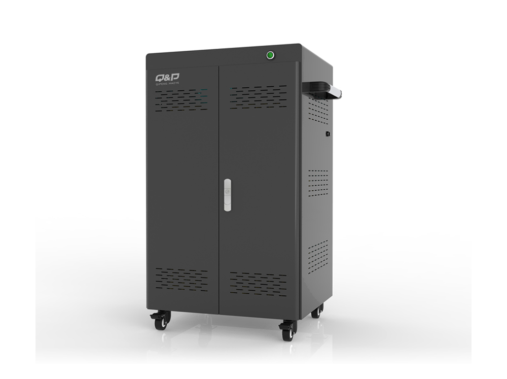 Security laptop locker charging cabinet