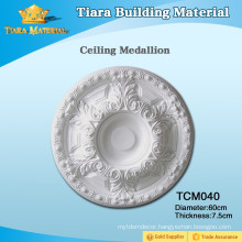 Best Stability Polyurethane Carved Ceiling Medallion for House Design