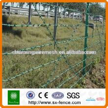 heavy galvanized Barbed Wire used in Fence top (made in Anping,China)