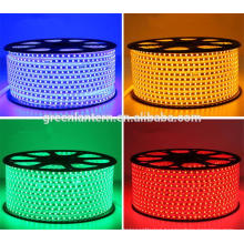 Waterproof AC220V - 240V LED Strip light 5050 SMD 60LEDs/M Decor Outdoor/ Indoor lighting String Tape
