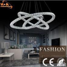 Lámpara de cristal europea lámpara de sala de ahorro de energía lámpara LED