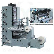 Автоматическая флексографическая печатная машина для этикеток (RY320-A)