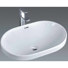 Cheap Price Bathroom Céramique Art Basin Sink (018)
