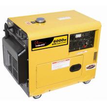 Générateur diesel silencieux certifié CE 6kva (WA6000DGS)