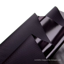 TPU 75D Polyester Laminate Fabric With Football Grid Design Water Resistant Polyester TPU Composite Fabric